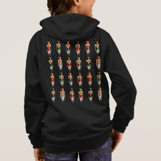 Colorful Christmas Nutcracker Toy Soldiers Hoodie