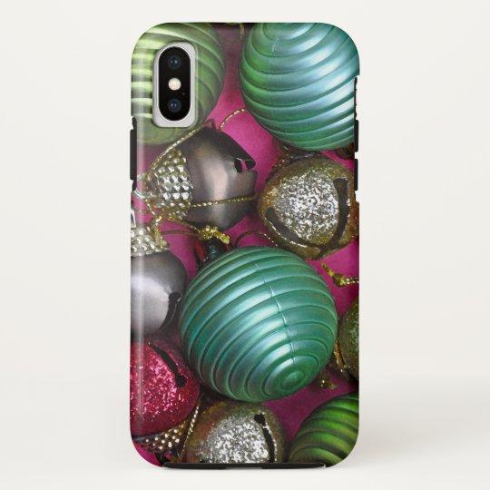 Colorful christmas ornaments HTC vivid case