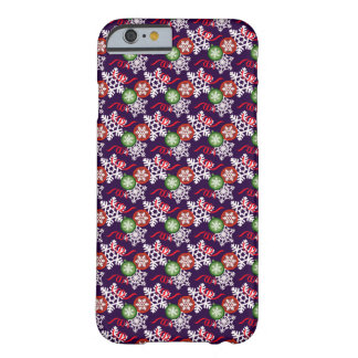 Colorful Christmas Pattern Barely There iPhone 6 Case