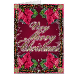 Colorful Christmas wishes Card
