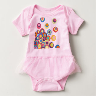 Colorful Circle Baby Bodysuit
