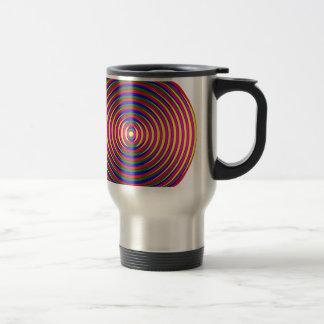 Colorful Circle Travel Mug