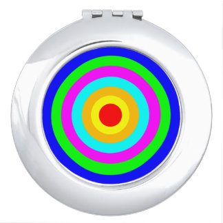 Colorful Circles Mirror For Makeup