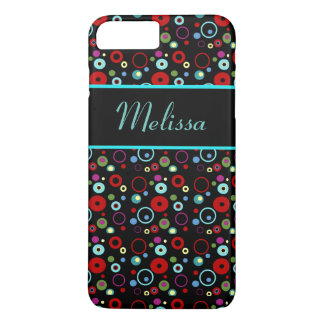 Colorful Circles Personalized I-Phone Case