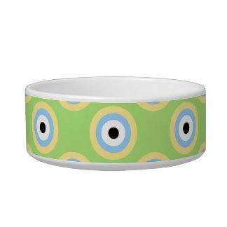 Colorful Circles Pet Bowl