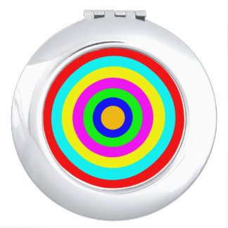 Colorful Circles Vanity Mirror