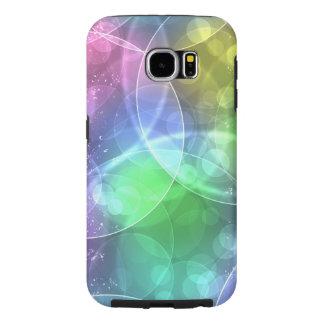 colorful circles vector art samsung galaxy s6 cases
