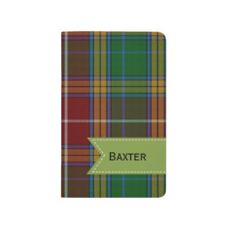 Colorful Clan Baxter Plaid Pocket Journal