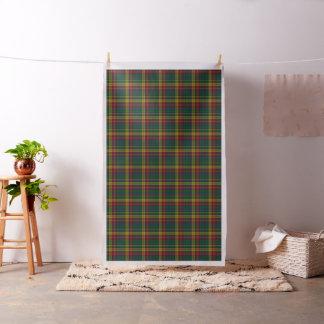 Colorful Clan Buchanan Tartan Plaid Fabric