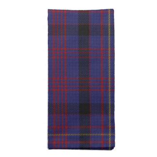 Colorful clan Dundonald Tartan Cloth Napkins