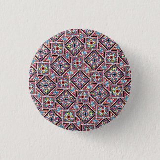 Colorful classic pattern button