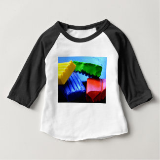 Colorful Clay Baby T-Shirt