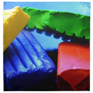 Colorful Clay Napkin