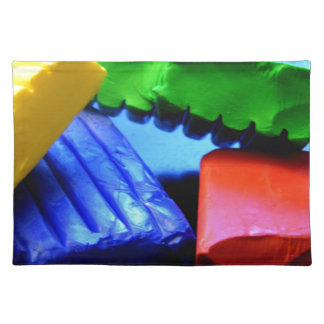Colorful Clay Placemat
