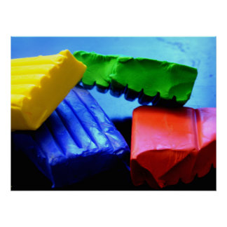 Colorful Clay Poster