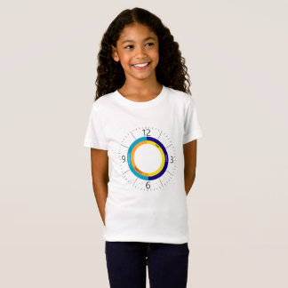 Colorful clock face T-Shirt