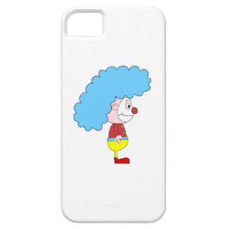 Colorful Clown Cartoon. Blue Hair. Case For The iPhone 5