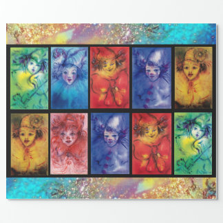 COLORFUL CLOWNS COLLECTION Venetian Carnival Faces