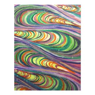 Colorful Coalesce Letterhead