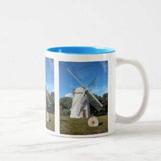 colorful coffee mug  Jamestown RI windmill