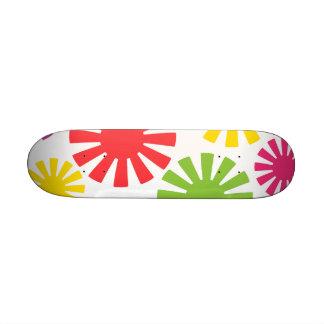 Colorful Cogs Mini Skateboard