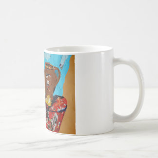 Colorful Collage Stilllife Art White Mug