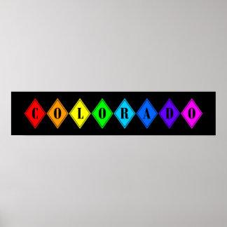 colorful colorado. v2. poster