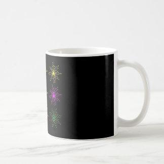 Colorful Comic Explosions Coffee Mug