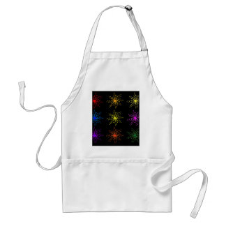 Colorful Comic Explosions Standard Apron