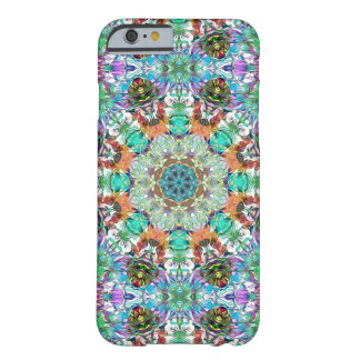 Colorful Concentric Abstract Barely There iPhone 6 Case