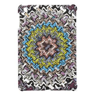 Colorful Concentric Chaos iPad Mini Cover