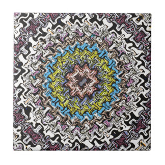 Colorful Concentric Chaos Tiles