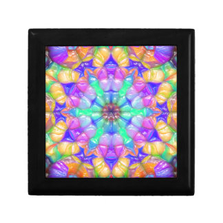 Colorful Concentric Reflections Gift Box
