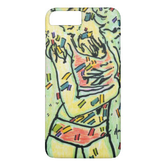 Colorful Confetti and figure drawing case