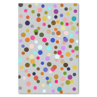 Colorful Confetti Art Tissue Paper