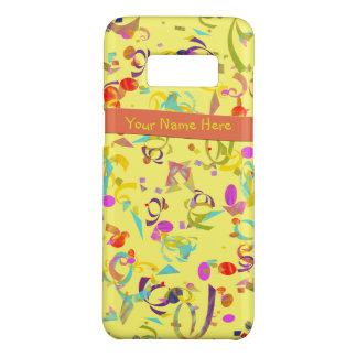 Colorful Confetti Toss Over Yellow Case-Mate Samsung Galaxy S8 Case