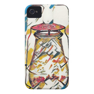 Colorful Contemporary Artistic Lantern iPhone 4 Covers