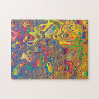 Colorful Contours Jigsaw Puzzle