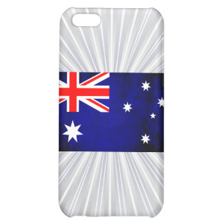 Colorful Contrast Australian Flag Cover For iPhone 5C