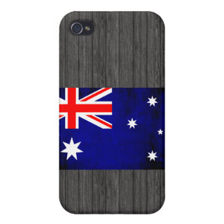 Colorful Contrast Australian Flag iPhone 4/4S Cover