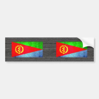 Colorful Contrast Eritrean Flag Bumper Sticker