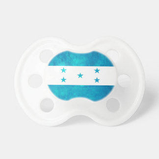 Colorful Contrast Honduran Flag Pacifier