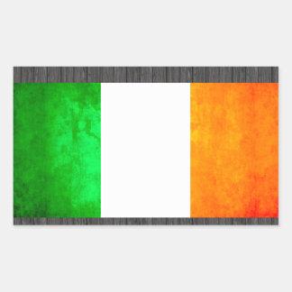 Colorful Contrast Irish Flag Sticker