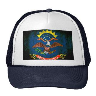 Colorful Contrast North Dakotan Flag Hat