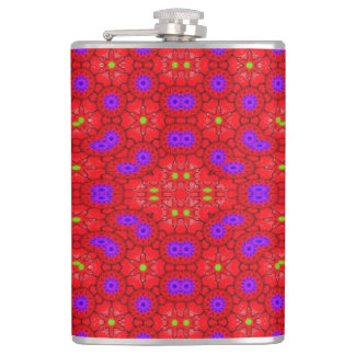 Colorful cool pattern flasks