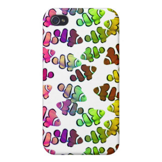 Colorful Coral Reef Clownfish Speck Case iPhone 4/4S Covers