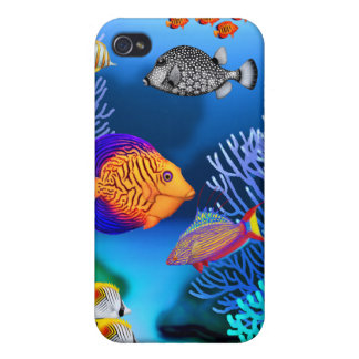 Colorful Coral Reef Fish Speck Case iPhone 4/4S Cases