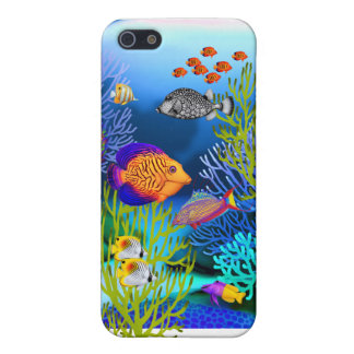 Colorful Coral Reef Fish Speck Case iPhone 5/5S Covers