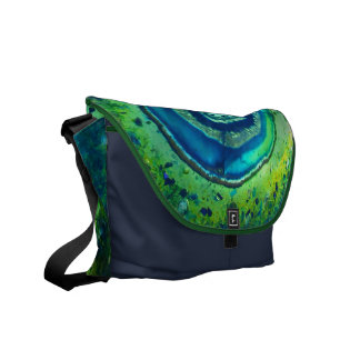 Colorful Cosmos Messenger Bag #1