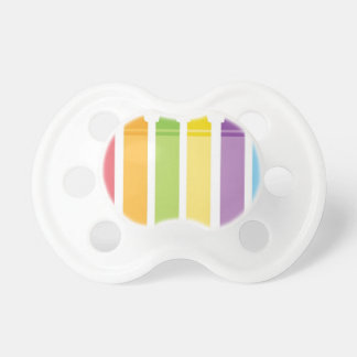 Colorful Crayons Pacifier